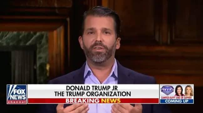 Donald Trump Jr. Credit: Fox News