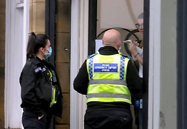 The salon has been hit with a £27,000 fine for flouting lockdown rules. Credit: SWNS