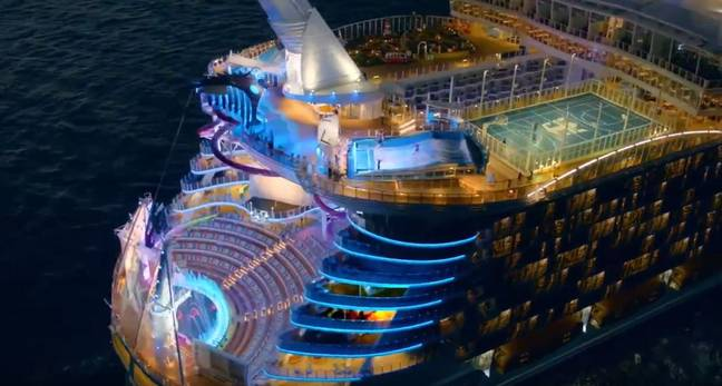 Bit different to the hostel you stayed in when you travelled Thailand, right? Credit: Royal Caribbean International