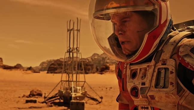 The CUBES team will make like Matt Damon in The Martian, surviving in Mars' harsh living conditions. Credit: 20th Century Fox
