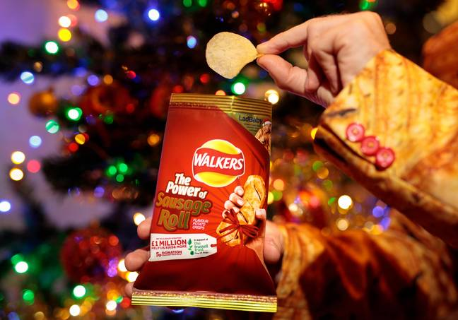 5p from every pack will go to the Trussell Trust. Credit: Walkers