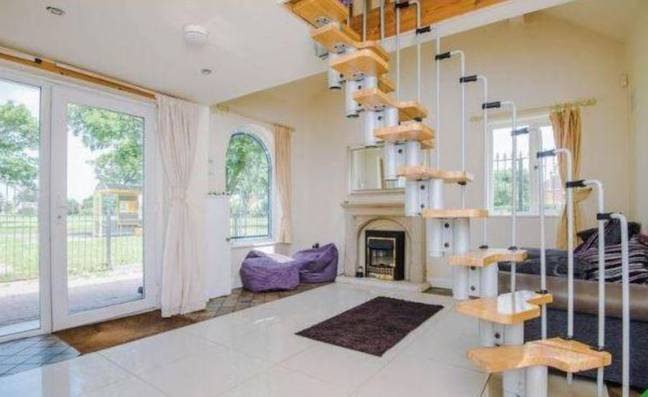 It has been converted into a one-bed property. Credit: Rightmove