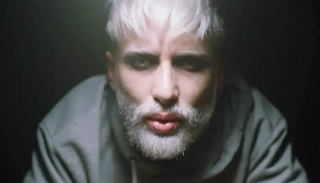 The singer looked very different in this 2019 music video. Credit: VENO
