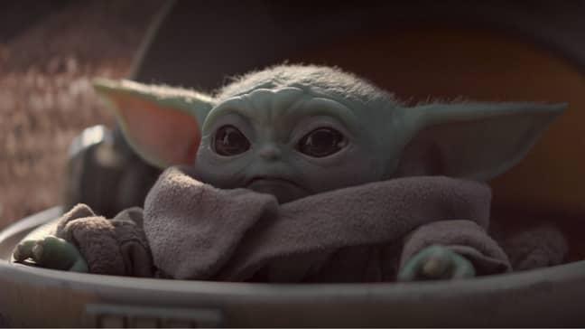 Fancy getting Baby Yoda in LEGO form? Credit: Disney
