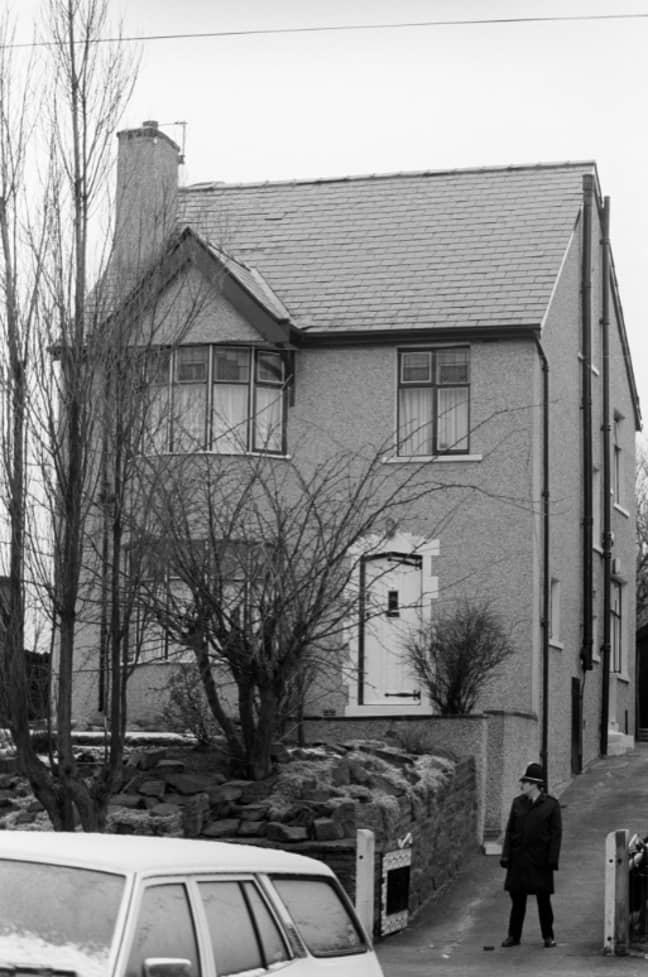 Sutcliffe's Bradford home. Credit: PA