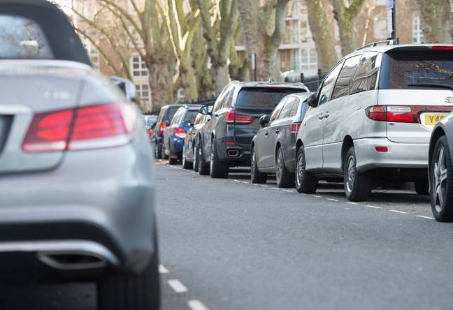 Parking on the pavement could be banned across England. Credit: PA