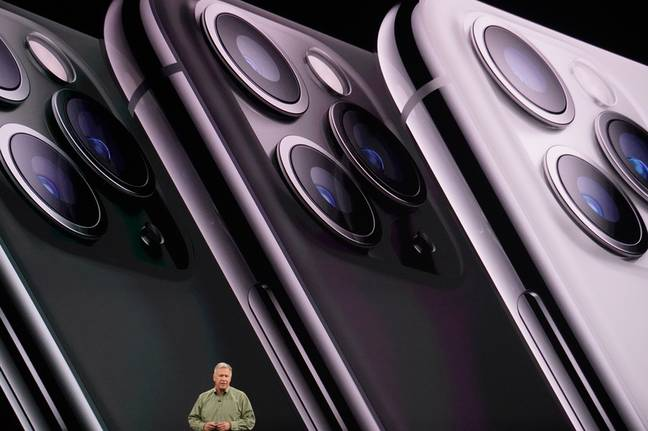 iPhone 11 Pro. Credit: YouTube