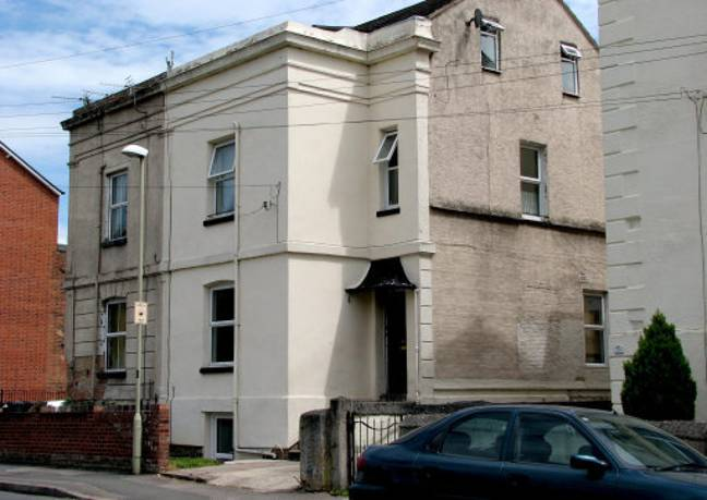 A general view of the house in Gloucester where Fred and Rose West lived. Credit: PA