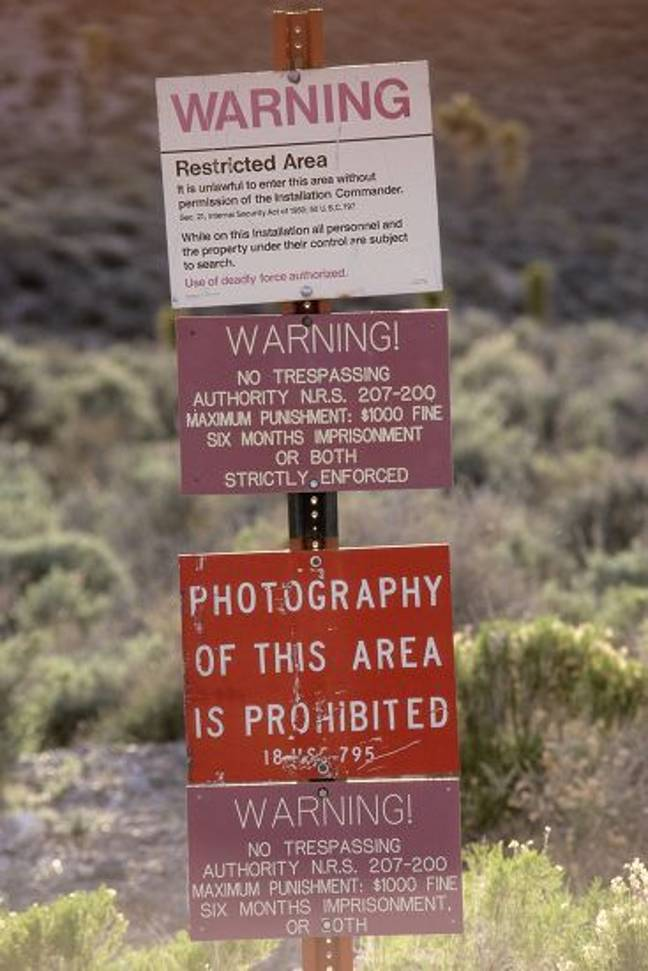 A group of more than 400,000 people are planning to storm Area 51 armed with pebbles. Credit: Stock Connection/Shutterstock