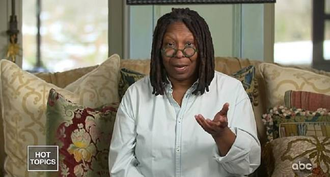 Whoopi says she's on the mend. Credit: ABC/The View