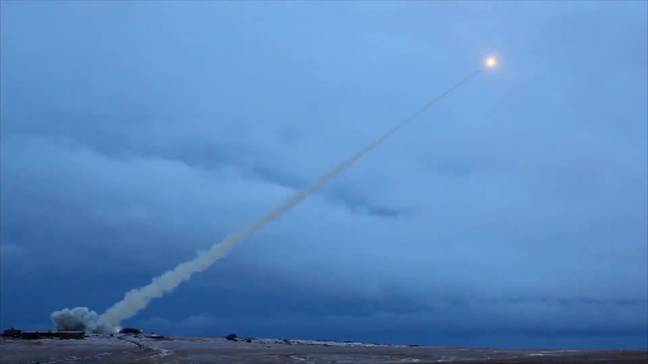 The Skyfall missile. Credit: East2West News