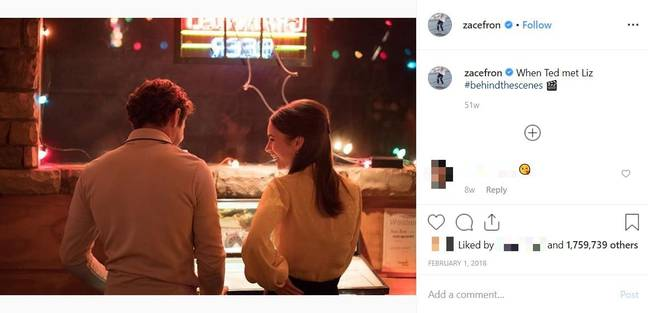 Efron began teasing the film nearly a year ago. Credit: Instagram/@zacefron