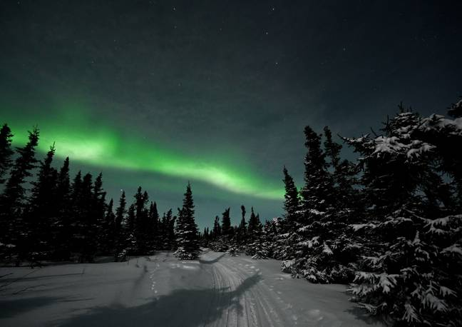 If you're lucky, you might just see a glimpse of the Northern Lights tonight. Credit: PA