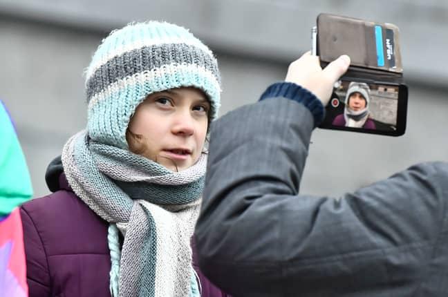 Meat Loaf reckons Greta Thunberg is brainwashed. Credit: PA