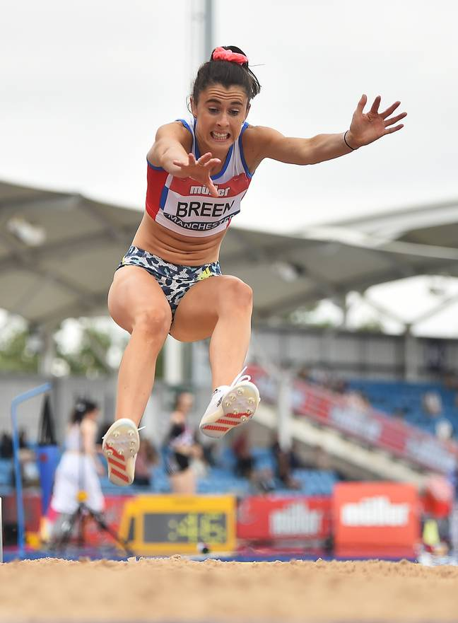 Olivia Breen competing in the Muller British Athletics Championships. Credit: Nathan Stirk - British Athletics/British Athletics via Getty Images