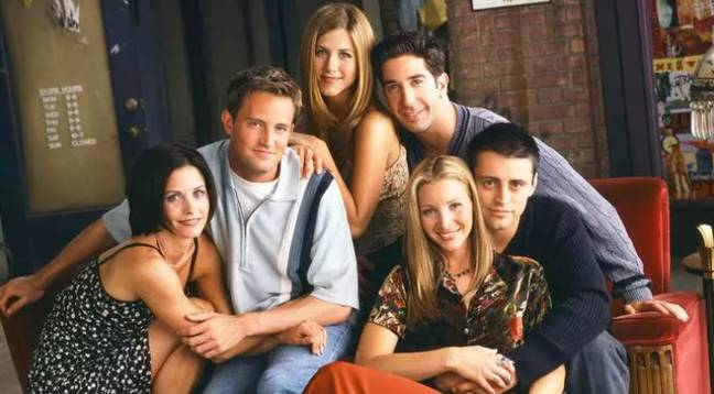 The cast of Friends. Credit: Warner Bros
