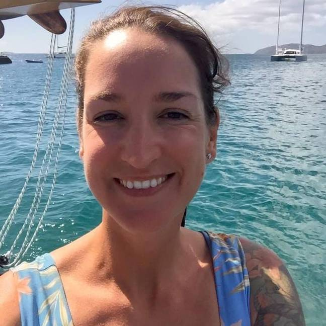 Police aren't sure Heslop boarded the yacht before her disappearance. Credit: Facebook/@MissingSarmHeslop