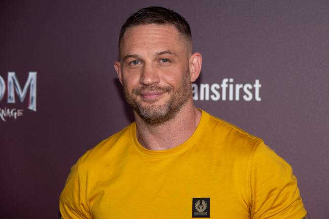 Tom Hardy at the photo call for Venom: Let there be Carnage in September 2021. (Credit: PA)