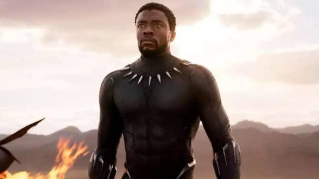 Boseman in 'Black Panther'. Credit: Marvel
