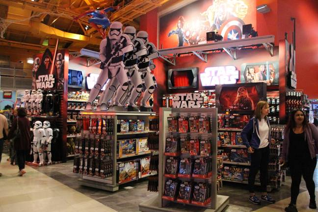 Star Wars is not exactly a stranger to the world of merchandise. Credit: PA