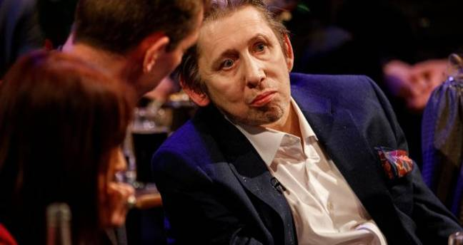Shane McGowan appeared on 'The Late Late Show'. Credit: RTE