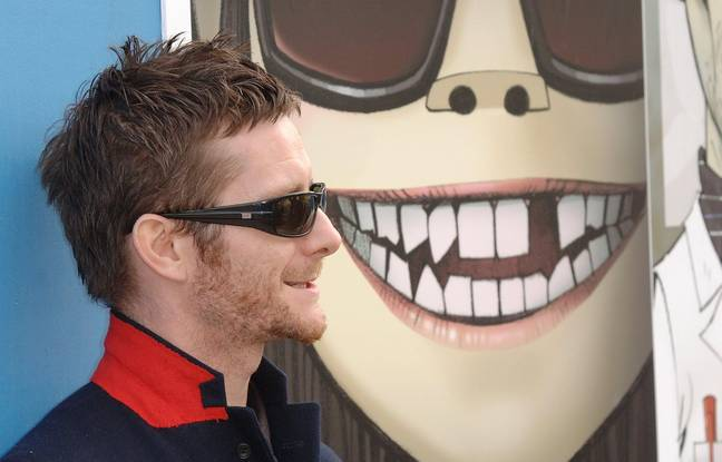 Jamie Hewlett back in the 2000s. Credit: PA