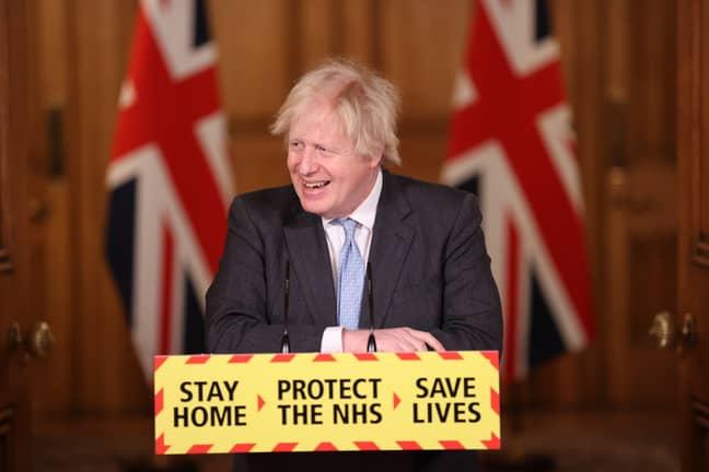 Boris Johnson warned Brits against booking anything. Credit: PA