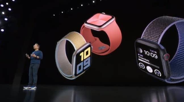 Apple Watch Series 5. Credit: YouTube