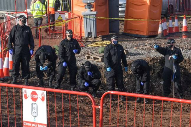 Workers uncovered the remains on a construction site in Solihull. Credit: Snapper SK