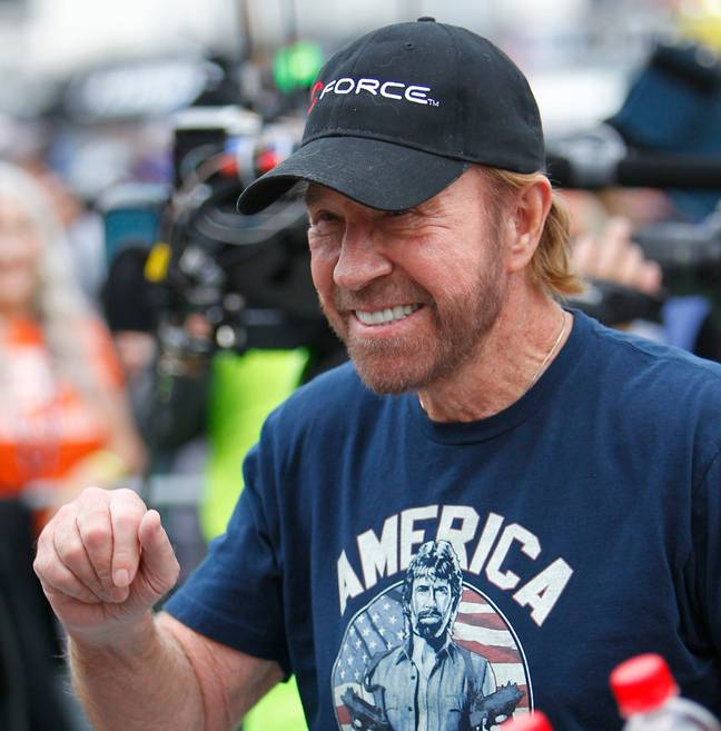 Chuck Norris is 80 today. Credit: PA