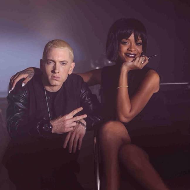 Eminem and Rihanna (Credit: Instagram/eminem)