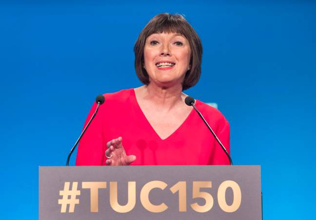 Frances O'Grady of the TUC. Credit: PA