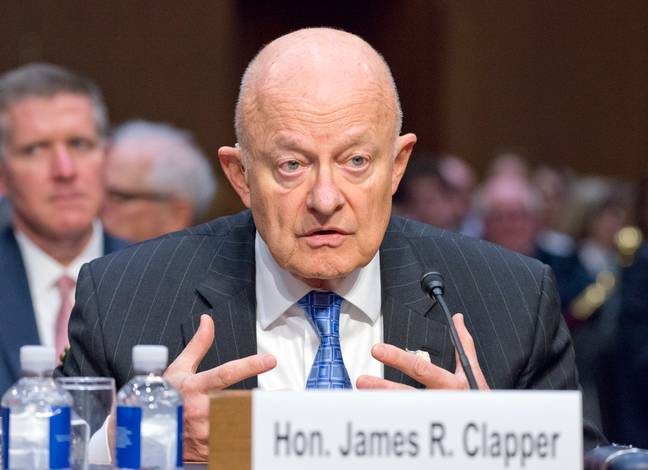 Director of National Intelligence James Clapper (Credit: PA)
