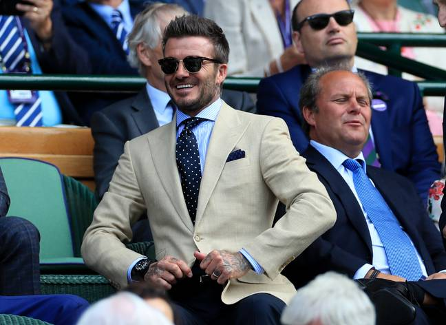 David Beckham Just Makes It Into The Top 10. Credit: PA
