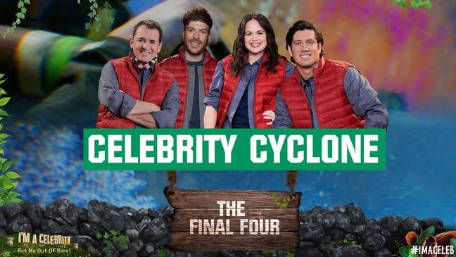 Celebrity Cyclone is always the highlight of the series (Credit: Twitter/imacelebrity)