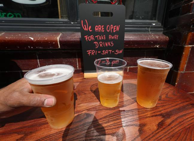 Pubs will now be able to sell takeaway pints during the November lockdown. Credit: PA