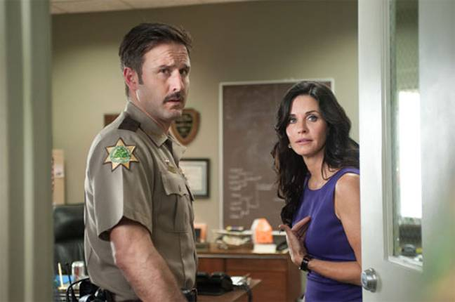 Arquette starred alongside Courtney Cox in the Scream franchise. Credit: Dimension Films
