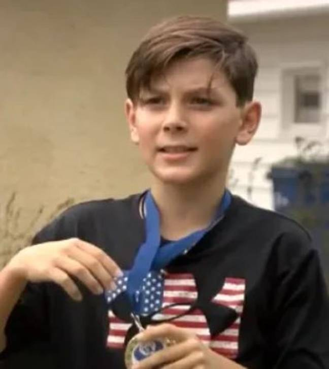 The keen runner hopes to compete in the Junior Olympics next year. Credit: CBS Minnesota