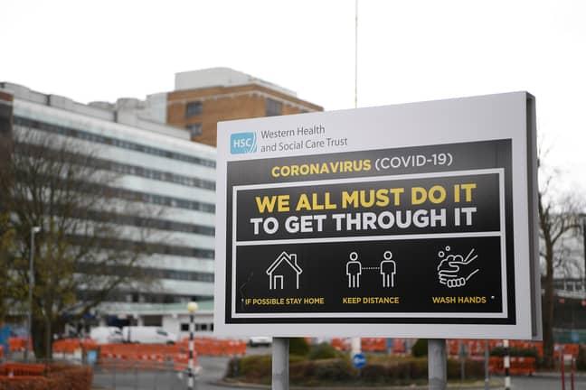 The UK was put on a three-week lockdown last week. Credit: PA