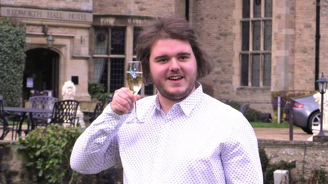 Music production graduate Alex Best, 21, from Shildon, County Durham. Credit: PA