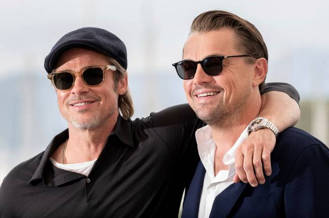 Pitt and DiCaprio in Cannes. Credit: PA