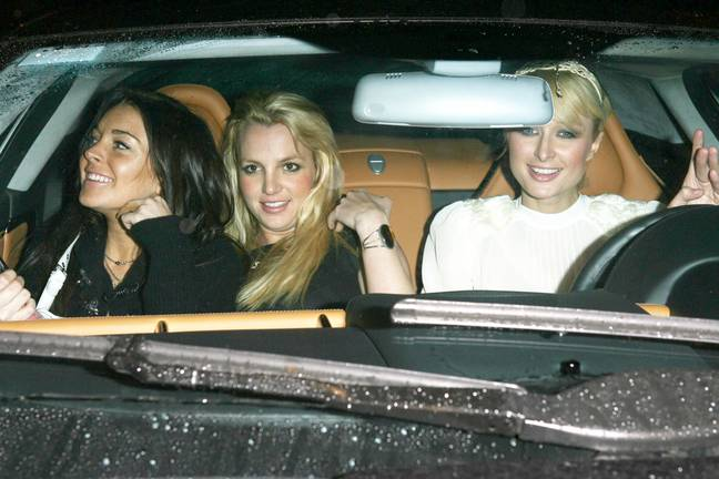 Lindsay, Britney and Paris - a triumvirate of celebs from yesteryear. Credit: x17online