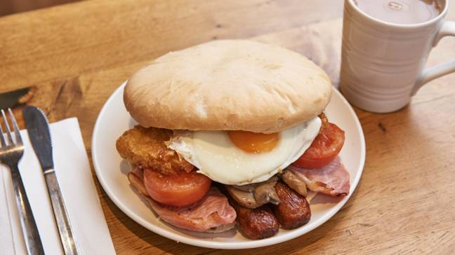 A SERIOUSLY big breakfast. Credit: Morrisons