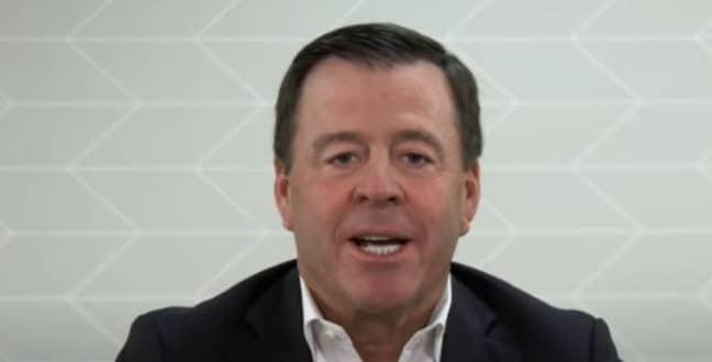 Subway CEO John Chidsey. Credit: CNN