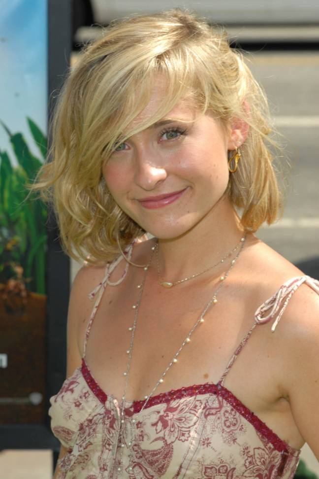 Allison Mack in 2006. Credit: PA