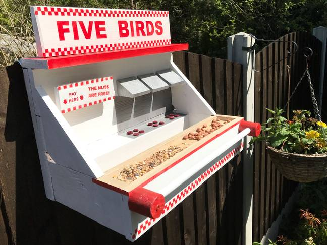 The Five Birds restaurant is now open for business. Credit: Kennedy News and Media