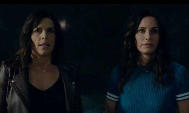 Neve Campbell and Courteney Cox are reprising their roles. Credit: Paramount Pictures