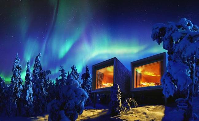 Arctic TreeHouse, Finland. Credit: Booking.com
