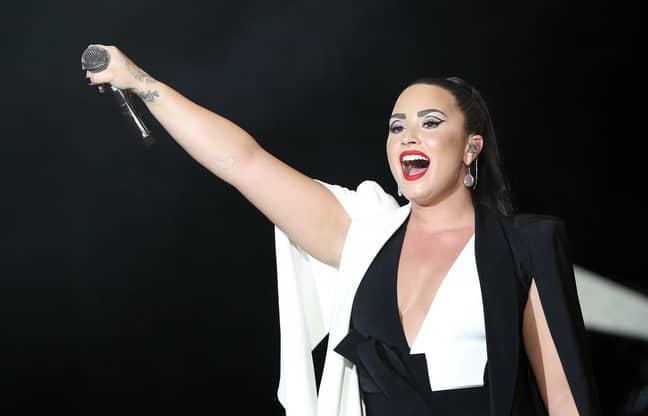 Lovato in 2018. Credit: PA