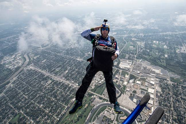 Aikins has skydived thousands of times. Credit: Red Bull Content Pool